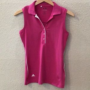 Adidas Puremotion Sleeveless Polo